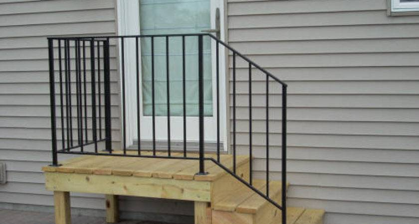 Mobile Home Steps Handrail Bestofhouse