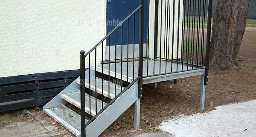 Mobile Home Steps Perfect Loading