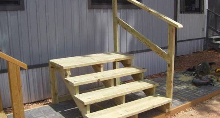 Mobile Home Steps Treated Wood Columbus Ebay Classifieds