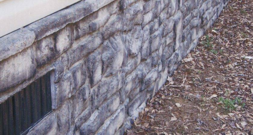 Mobile Home Stone Skirting Products Hill Country