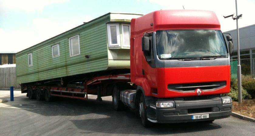 Mobile Home Transport Mancino Services Ireland