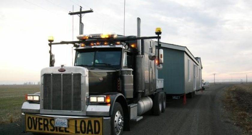 Mobile Home Transport Preperation Construction