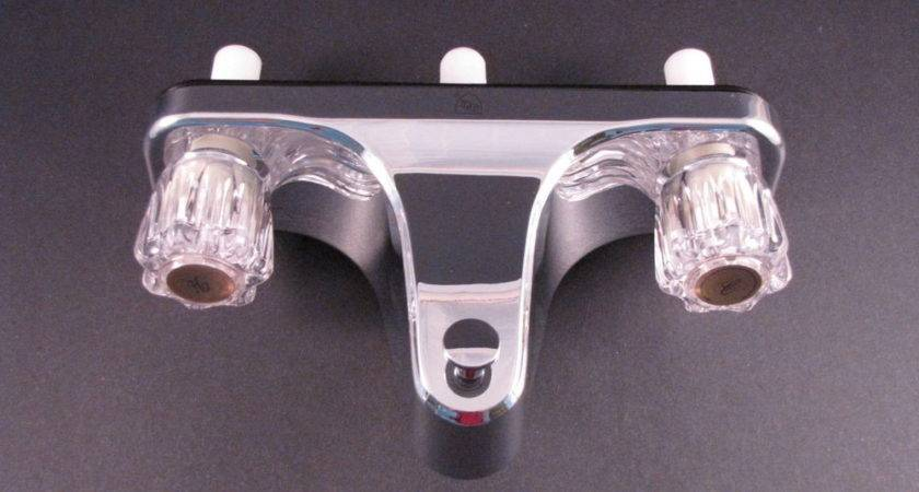 Mobile Home Tub Shower Faucet Valve Diverter Chrome