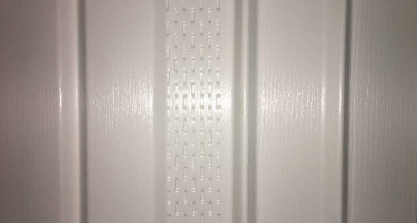Mobile Home Vinyl Skirting White Vented Panel