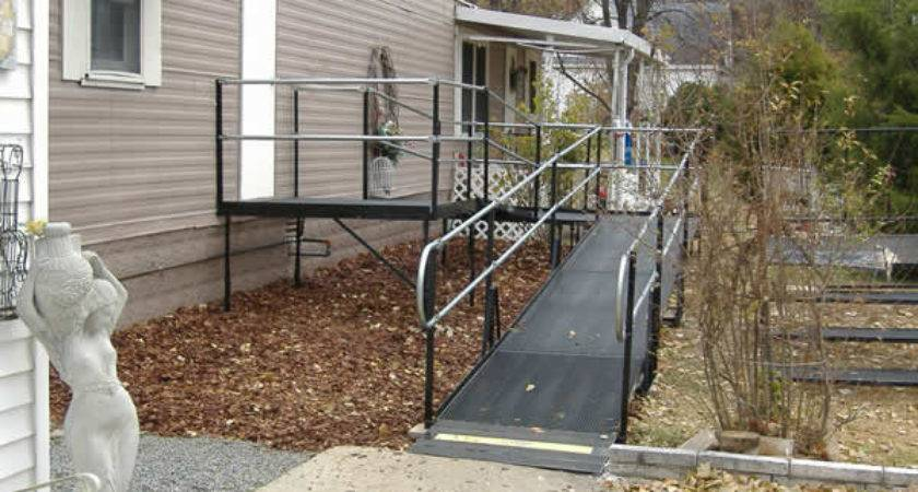 Mobile Home Wheelchair Ramp Plans House Design