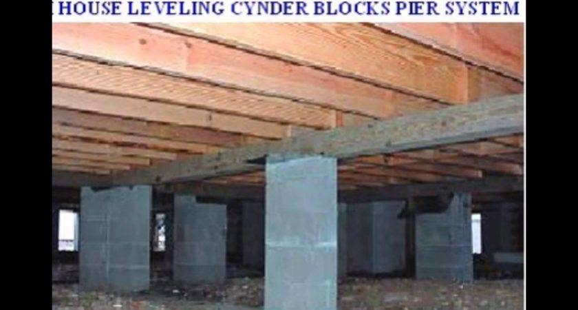 Mobile Homes Concrete Slab Pier Beam Foundation