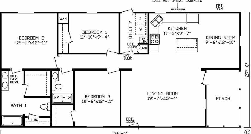 Mobile Homes Double Wide Floor Collection Attractive