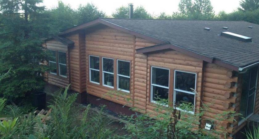 Mobile Homes Look Like Log Cabins Cavareno Home