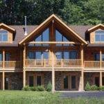 Mobile Homes Look Like Log Cabins Photos