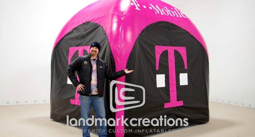 Mobile Inflatable Airtent Ingster Marketing