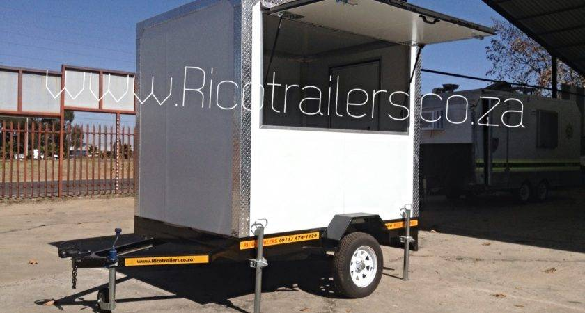 Mobile Kitchen Trailer Sale Cheap Johannesburg