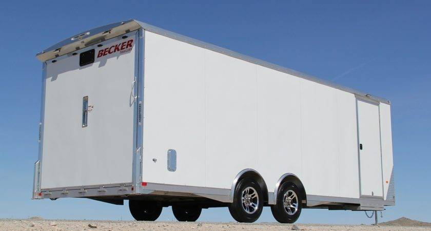 Mobile Medical Training Facility Trailer Becker Custom