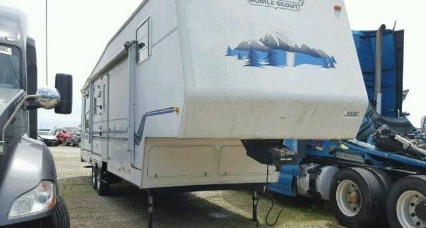 Mobile Scout Travel Trailer Sale Copart