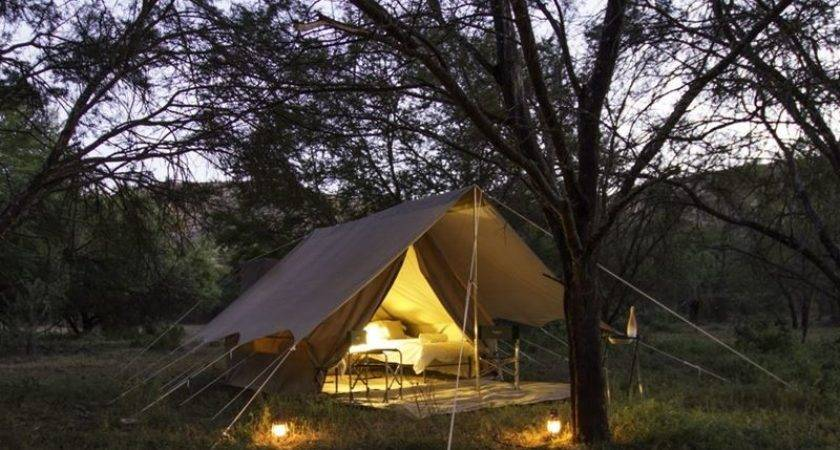 Mobile Tent Adventure Camp