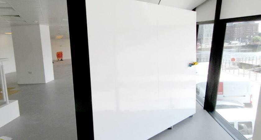 Mobile Whiteboard Wall Logovisual