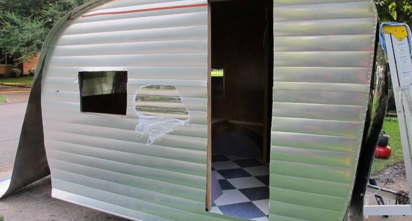 Model Camper Trailer Aluminum Siding Fakrub