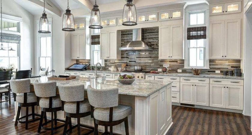 Model Home Kitchen Belmont Traditional