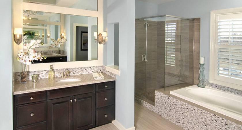 Model Homes Bathroom Charlotte Shea