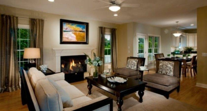 Model Homes Decorating Ideas Home Living Room Kitchen