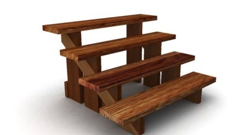 Model Wooden Steps