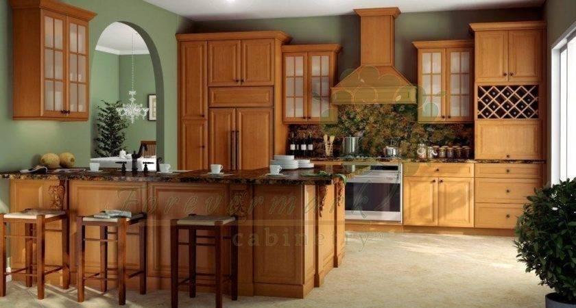 Modena Honey Shakertown Rta Cabinet Bath Vanity