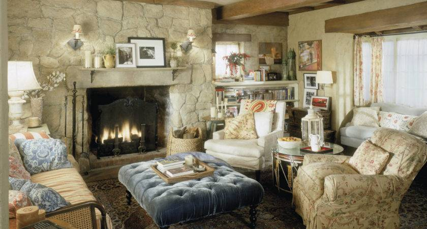 Modern Country Style Holiday Houses Living Rooms