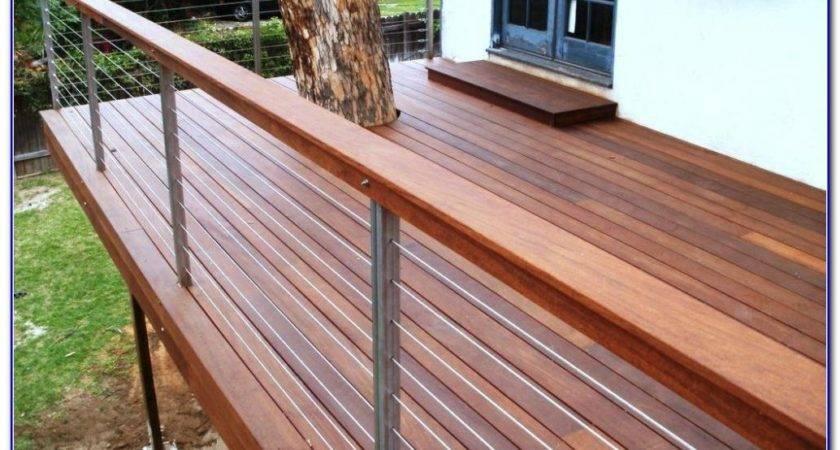 Modern Deck Railing Ideas Decks Home Decorating