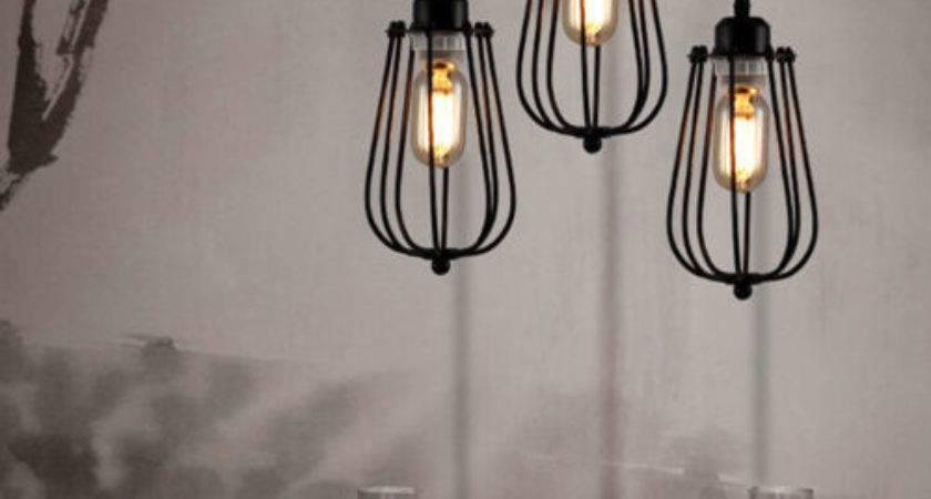 Modern Design Industrial Diy Metal Ceiling Lamp Light