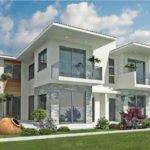 Modern Exterior Home Designs White Paint Color