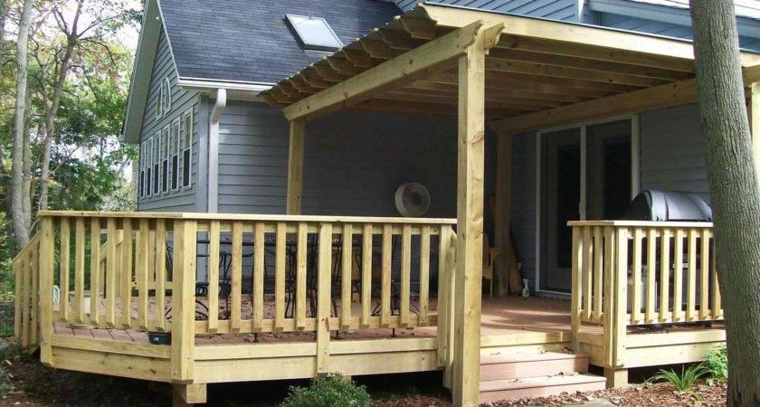 Modern Farmhouse Porch Railing Five Elements