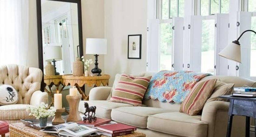 Modern Furniture Cottage Living Room Decorating Ideas