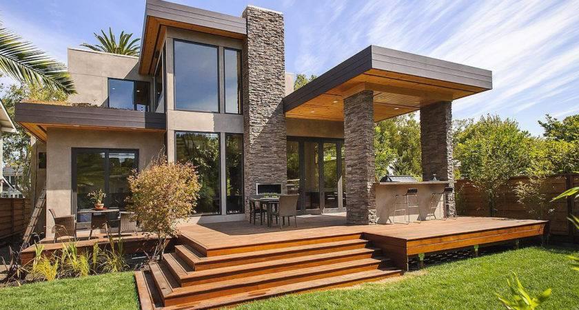 Modern Home Exterior Design Architecture Art