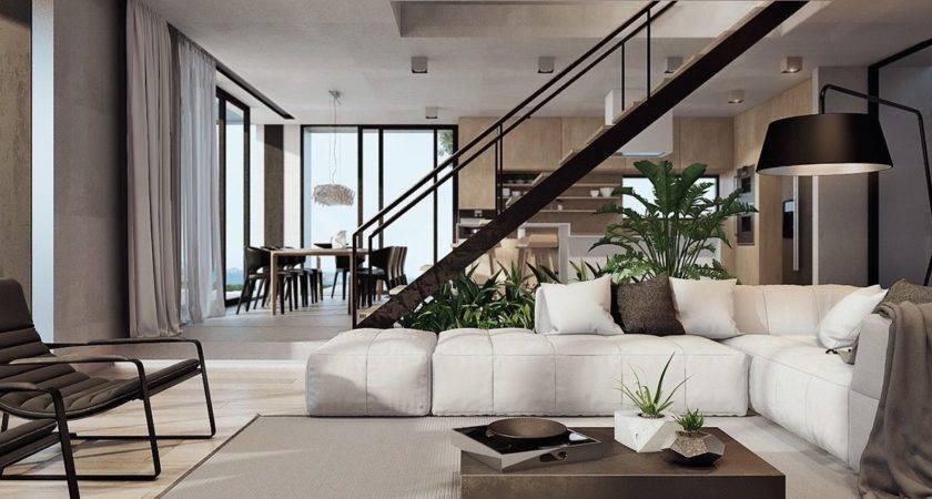 Modern Home Interior Design Arranged Luxury Decor
