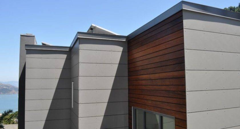 Modern Home Siding Types Exterior
