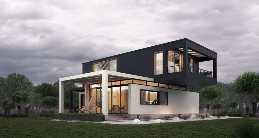 Modern House Exterior Ideas Plan