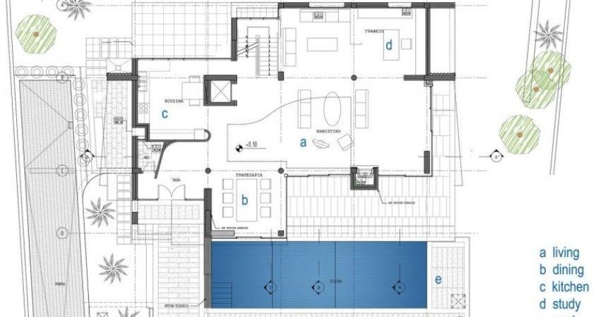 Modern House Floor Plans Contemporary Home