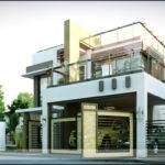 Modern House Plans Roof Deck