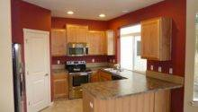 Modern Kitchen Accent Wall Painting Color Ideas