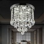 Modern Led Crystal Ceiling Light Pendant Lamp Fixture