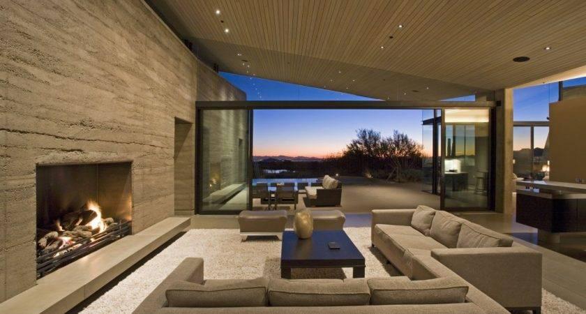 Modern Living Room Fireplace Marceladick