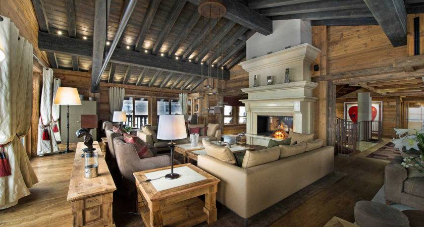 Modern Mountian Retreat Houses Interior
