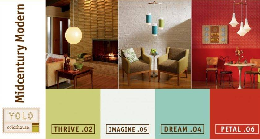 Modern Paint Colors Grasscloth