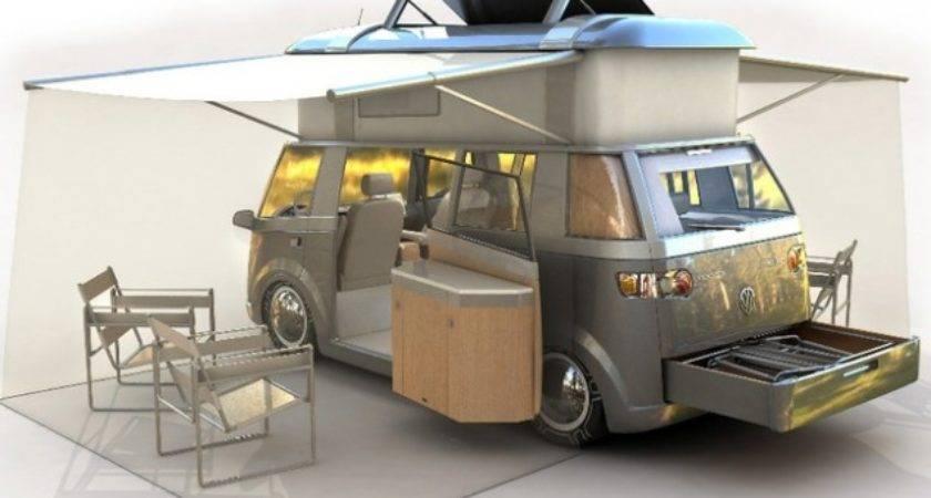 Modern Reinterpretation Classic Westfalia Camper