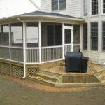 Modern Shed Roof Screened Porch Plans