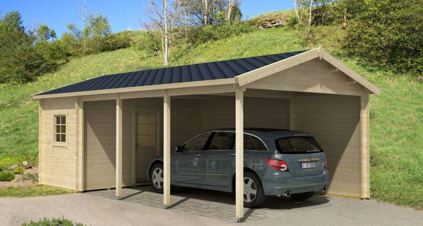 Modern Simple Black Build Cheap Carport Can Used