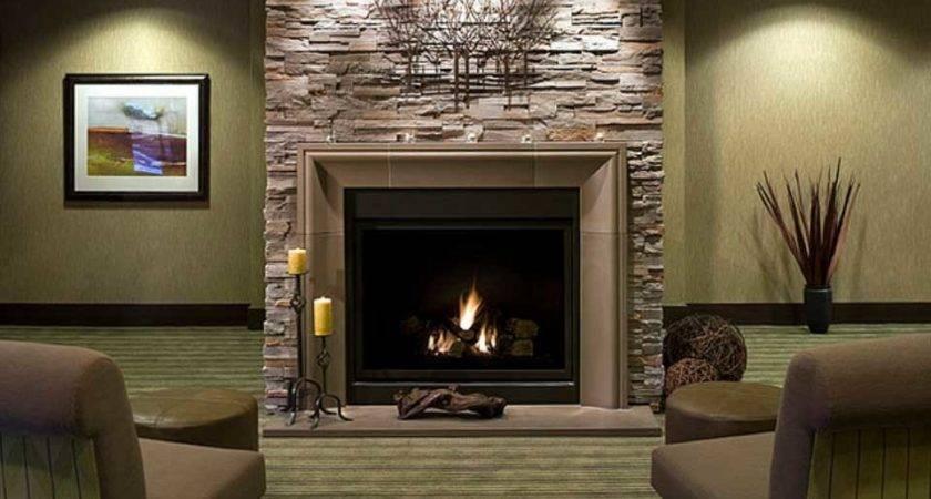 Modern Stone Fireplace Design Ideas Home Interior Exterior