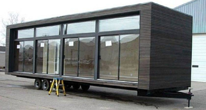 Modern Trailer Homes Architecture Mobile