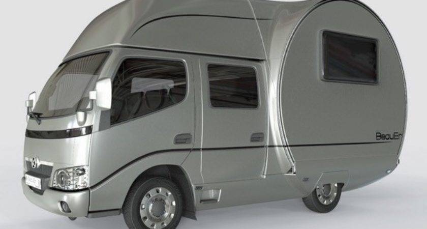 Modern Transforming Camper Beauer