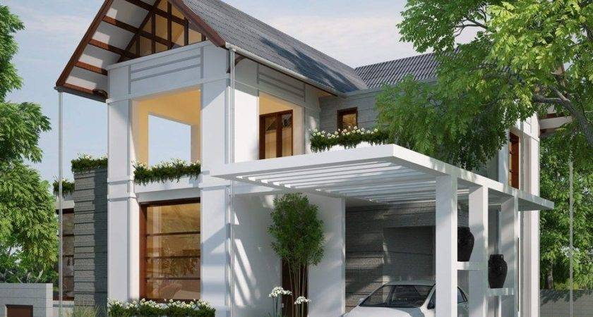 Modern White Carport Design Ideas Minimalist