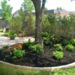 Modest Landscaping Around Trees Landscape Designs